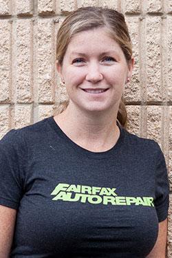 Rebecca - Owner - Fairfax Auto Repair.