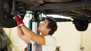 Steering and suspension service